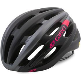 Giro Saga Casco Mujer, matte black/pink race